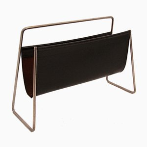 Vintage Magazine Rack by Carl Auböck