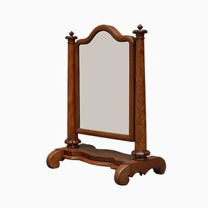 Antique William IV Mahogany Vanity Mirror