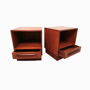 Fresco Teak Nightstands by Victor Wilkins for G-Plan, 1960s, Set of 2