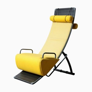 Fabric and Metal Mobilis 045 Lounge Chair by Marcel Wanders for Artifort, 1980s