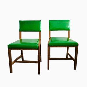 Vintage CC41 Esszimmerstühle, 1940er, 2er Set