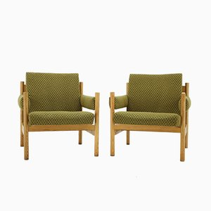 Vintage Armchairs from Mona, 1974, Set of 2