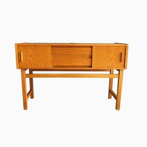 Kleines dänisches Sideboard aus Eiche, 1960er