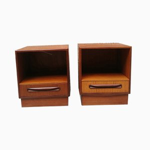 Vintage Teak Nightstand from G-Plan, 1960s, Set of 2