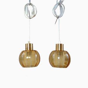 Lampes à Suspension Vintage, Set de 2