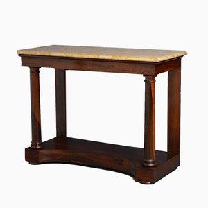 Table Console Regency Antique en Palissandre, Angleterre