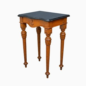 Table Console Victorienne Antique en Chêne