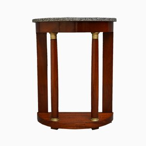 Antique Mahogany Console Table, 1900s