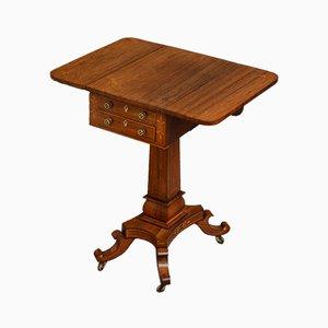 Antiker Regency Pembroke Tisch aus Palisander