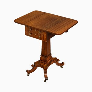 Antique Regency Rosewood Pembroke Table