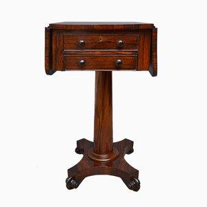 Antique William IV Rosewood Console Table