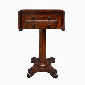 Table Console William IV Antique en Palissandre