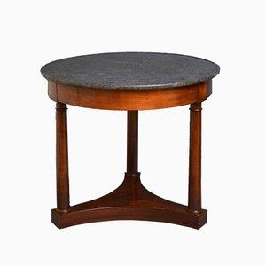 Table Basse Antique en Acajou, France