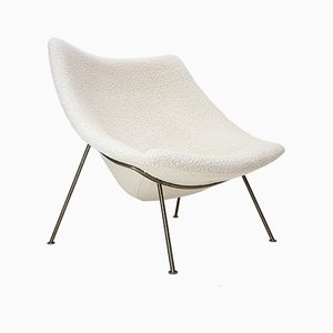 Oyster Bouclé Chair by Pierre Paulin for Artifort, 1960s
