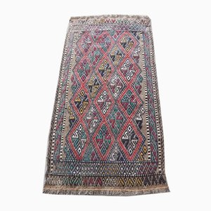 Turkish Handwoven Kilim Rug, 1970s
