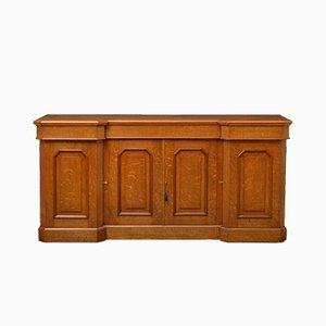 Antikes viktorianisches Sideboard aus Eichenholz