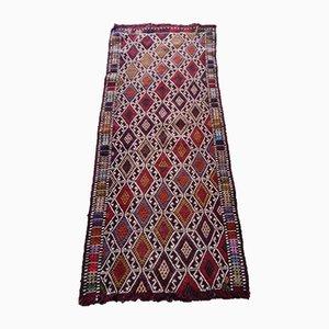 Kleiner türkischer Vintage Teppich, 1970er