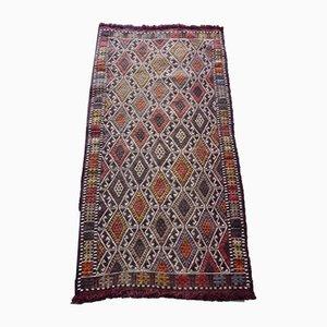 Türkischer Vintage Teppich mit Rautenmuster, 1970er