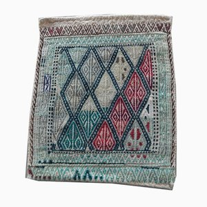Small Turkish Oushak Kilim Rug, 1970s