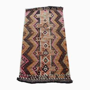 Vintage Kelim Teppich mit geometrischem Muster, 1970er