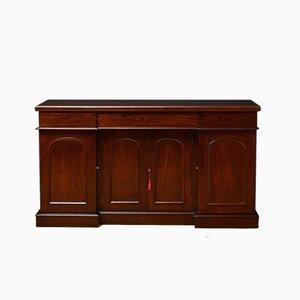 Viktorianisches Sideboard aus Mahagoni mit 4 Türen