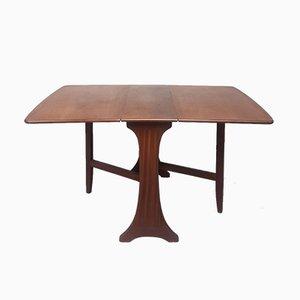 Mesa de comedor extensible Mid-Century con patas abatibles de G-Plan, años 60