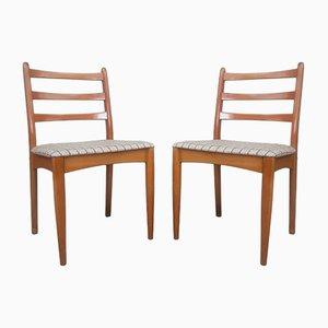 Mid-Century Danish Teak Dining Chairs, 1970s, Set of 2