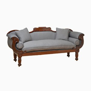 Antikes William IV Sofa aus Palisander & Mahagoni
