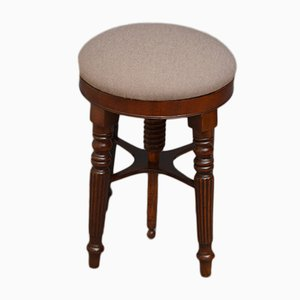 Antique Regency Mahogany Piano Stool