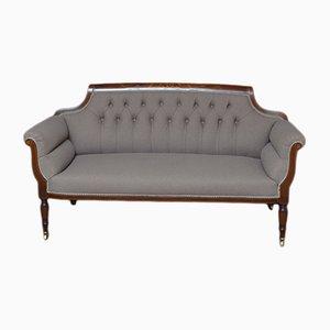 Antikes viktorianisches Sofa aus Mahagoni