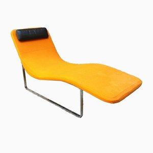 Chaise longue Landscape naranja de Jeffrey Bernett para B&B Italia, 1999