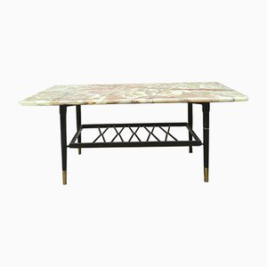 Coffee Table with Onyx Top, 1950s