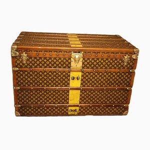 Baúl de viaje alto de Louis Vuitton, años 30