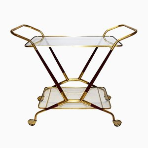 Brass Trolley by Cesare Lacca, 1950s