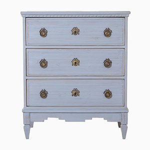 Antique Gustavian Dresser with Bronze Fittings, 1840s