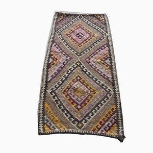 Anatolischer Vintage Cicim Teppich mit Rautenmuster, 1970er