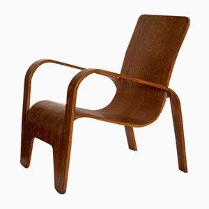 Sessel aus Schichtholz von Han Pieck für Lawo, 1940er