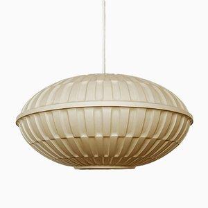Lampe à Suspension Vintage en Plastique, 1960s