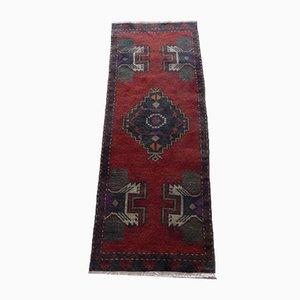 Türkischer Yastik Teppich mit niedrigem Flor, 1970er
