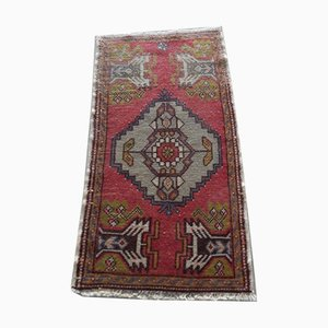 Small Vintage Turkish Runner Rug, 1970s