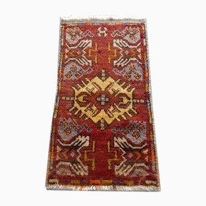 Small Handmade Oushak Rug, 1970s