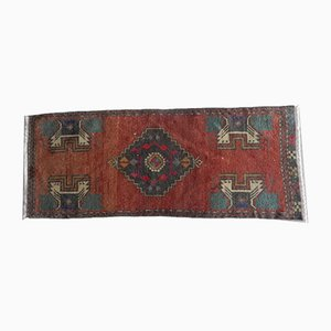 Small Kurdish Low Pile Rug, 1970s