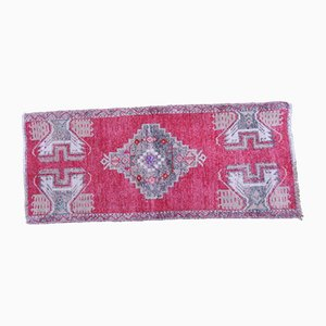 Small Turkish Wool Entrance Rug, 1970s