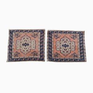Miniature Turkish Rugs, 1970s, Set of 2