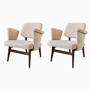 Mid-Century No. 681 Armchairs by Gunter Eberle for Thonet, 1950s, Set of 2
