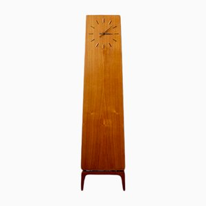 Danish Grandfather Clock by Arne Hovmand-Olsen for JYDSK Butiksmontering- Risskov, 1960s