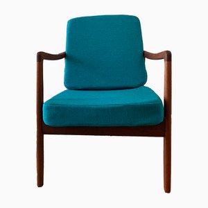 Modell FD109 Sessel mit Gestell aus Teak von Ole Wanscher für France & Søn / France & Daverkosen, 1960er