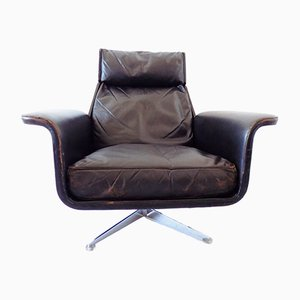 62 Siesta Lounge Chair by Jacques Brule for Hans Kaufeld, 1980s
