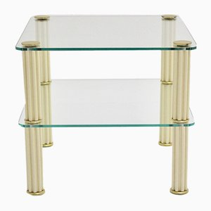 Vintage Italian Ceramic 2-Tiered Side Table from Paf