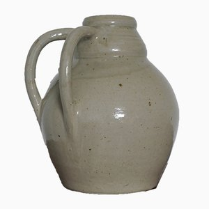 French Art Deco Stoneware Jug by Betzy Augeron, 1930s